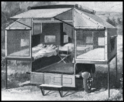 ... semi-rigid tent walls screen doors and a bay compartment located at the front of the trailer. The entire unit could be removed and the trailer used for ...  sc 1 st  Pop-up C&er History & Pop-up Camper History